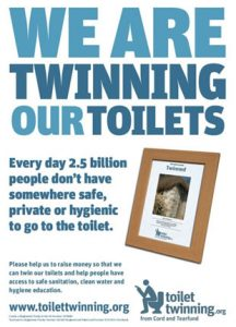 Local Women's Organisation Buys Two Toilets For Third-World Countries