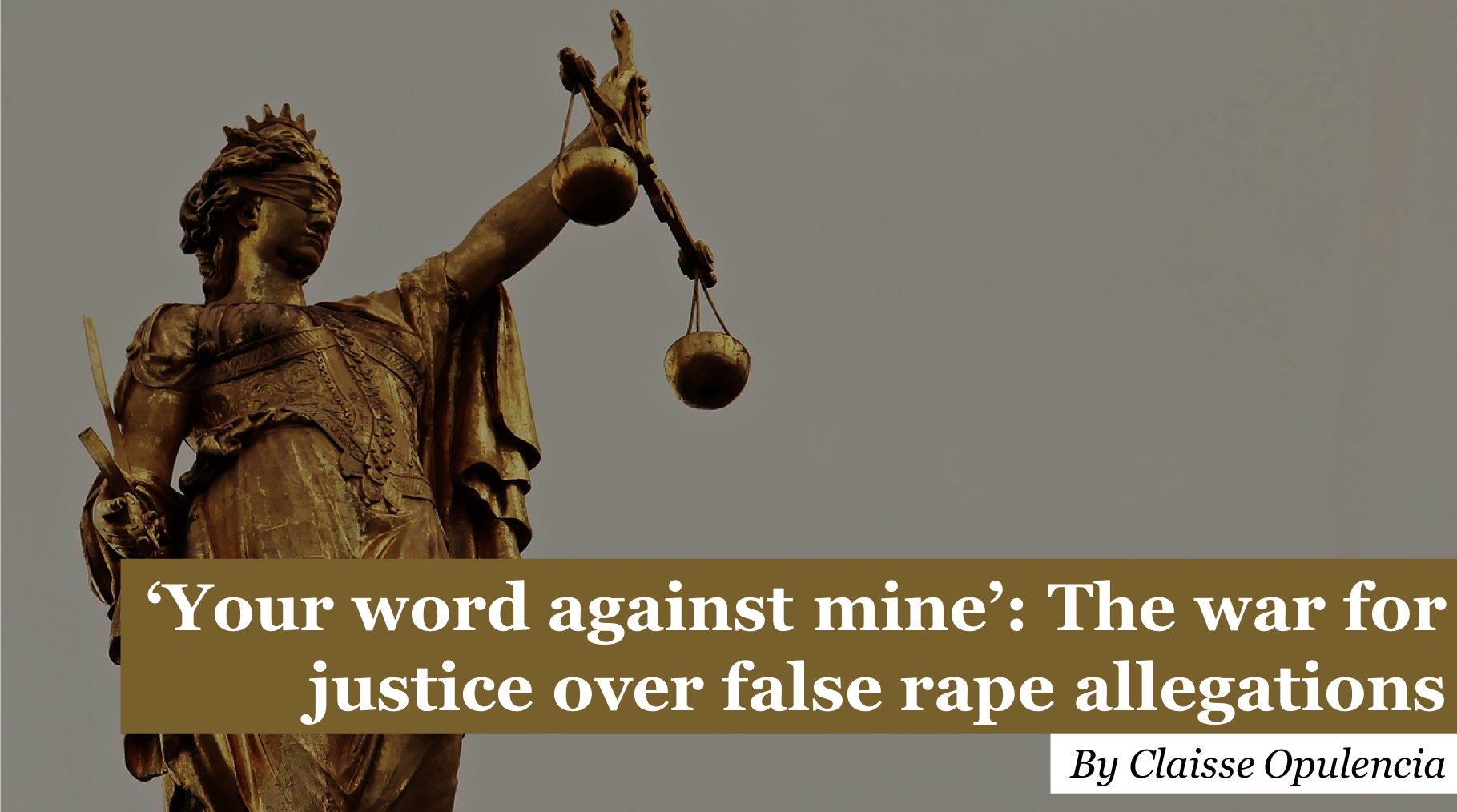 'Your word against mine': The war for justice over rape allegations - The Canterbury Hub