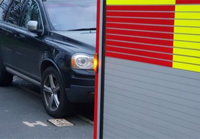 Kent firefighters urge people to watch where they park