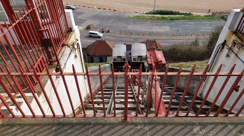 Leas Cliff Lift Gets A Cash Boost The Canterbury Hub