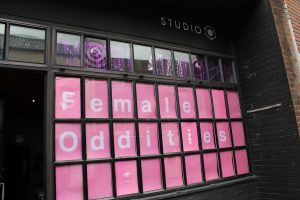 Female Oddities at Studio 20, Norwich. Photo taken by India Minter.