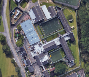 HMP Cookham Wood. Image: Google Maps.