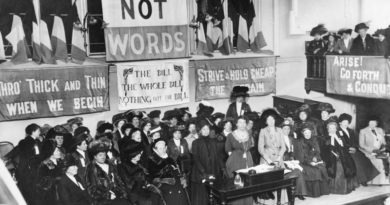 The women behind the suffrage